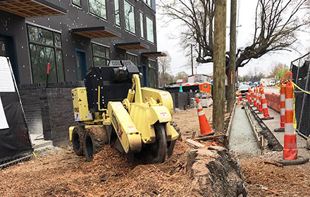 Commercial Stump Grinding